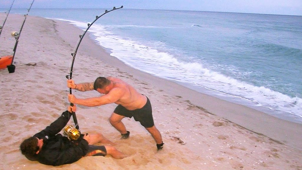 Myrtle beach shark fishing spots recommended bait setups for How many fishing rods per person in texas