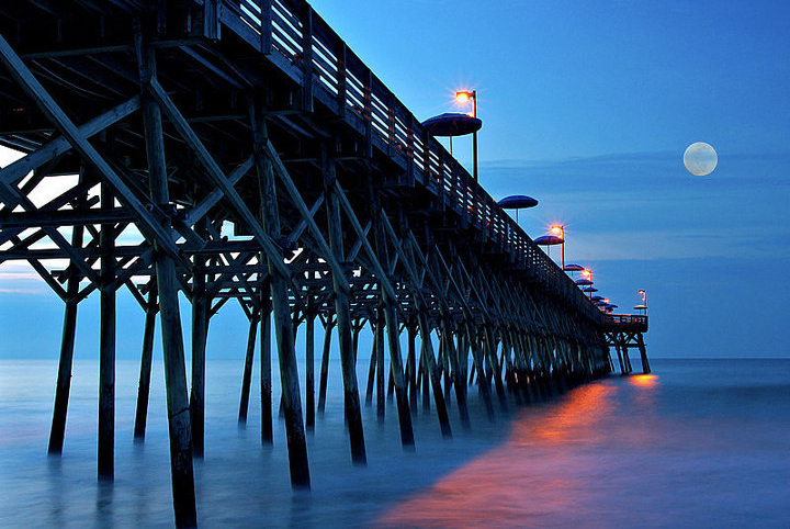 Cherry Grove Fishing Pier Myrtle Beach Sc